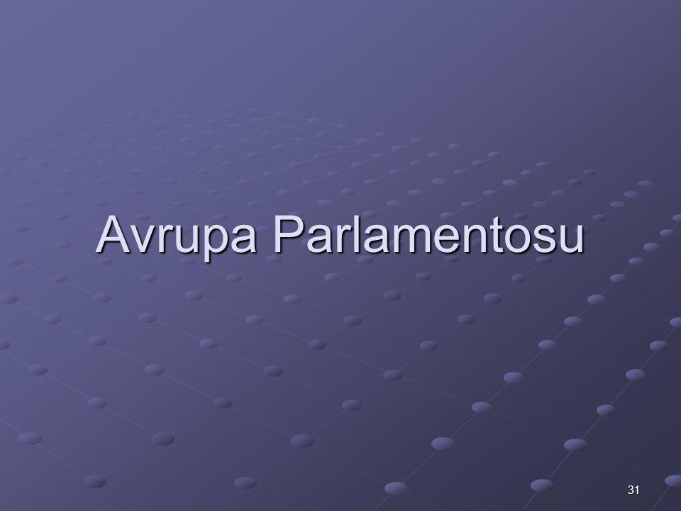 31 Avrupa Parlamentosu
