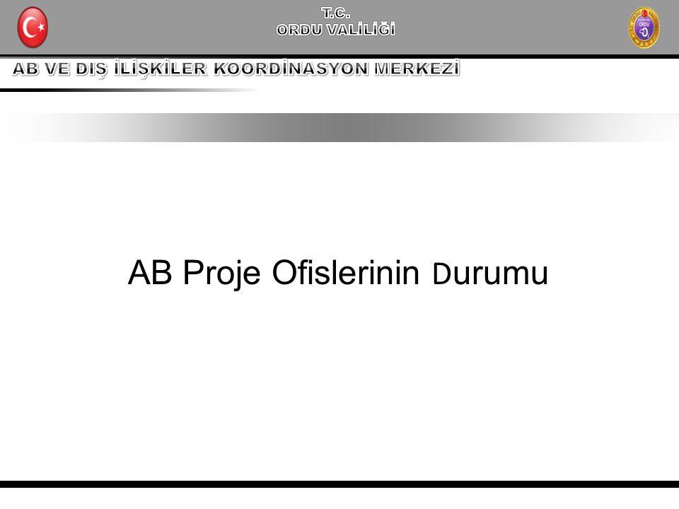 AB Proje Ofislerinin D urumu