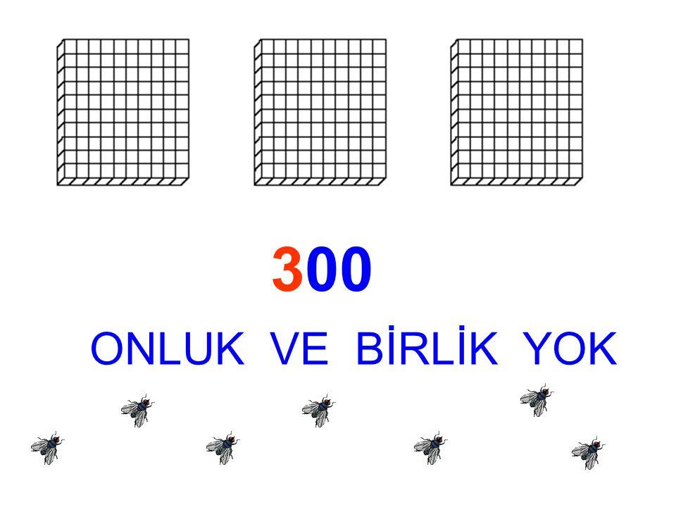 300 ONLUK VE BİRLİK YOK
