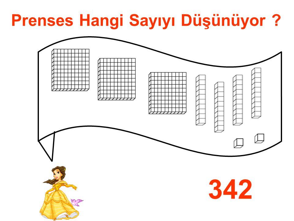Prenses Hangi Sayıyı Düşünüyor ? 342