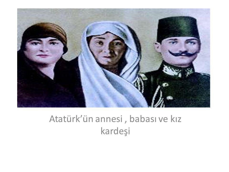 Atatürk bir doğa gezisinde