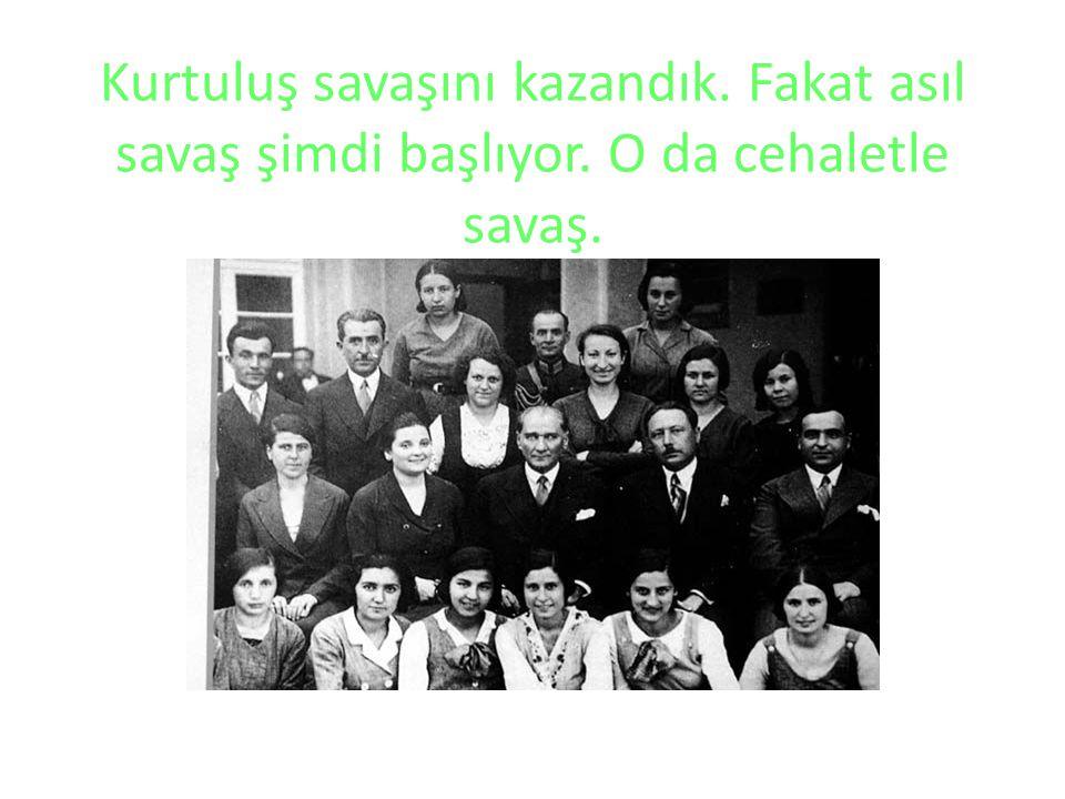Hedefimiz Türkiye Cumhuriyeti'ni en yüksek medeniyet seviyesine yükseltmektir.