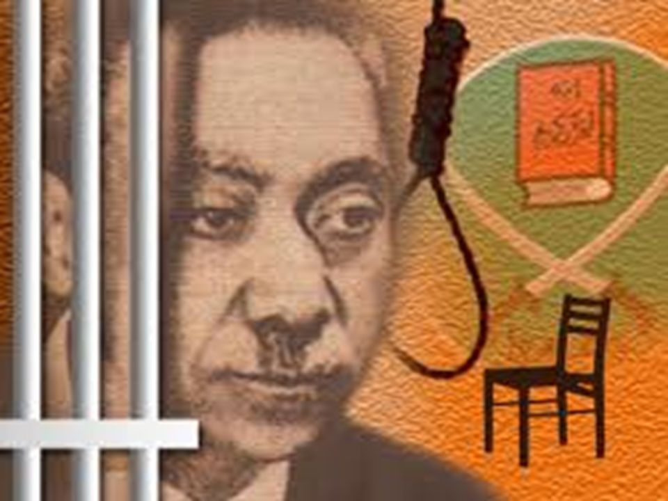 Ve 22 Ağustos 1966'da, Zalim Mısır Medeniyet ve yandaşları tarafından hakkında idam hükmü verildi.