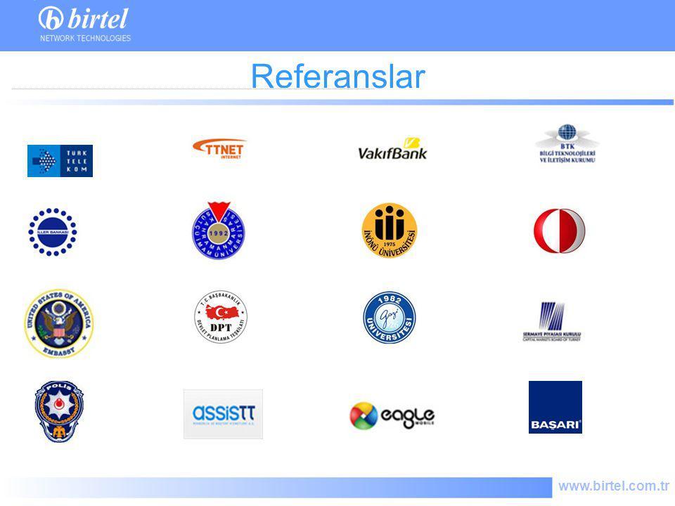 www.birtel.com.tr Referanslar