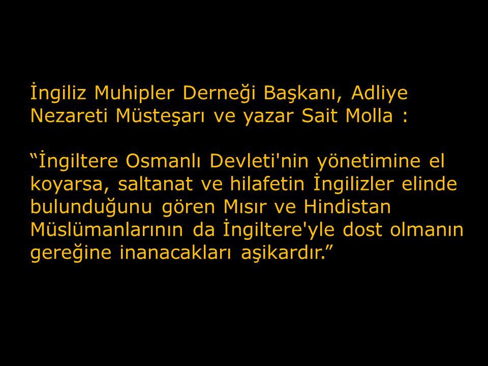 Nazır Rıza Tevfik: Anadolu direnişi bir blöftür.