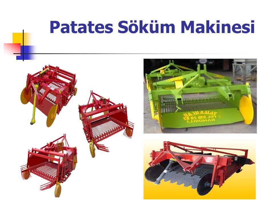 Patates Söküm Makinesi