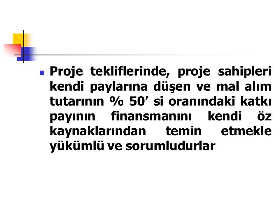 MAKİNE EKİPMAN ALIMLARI PROGRAMI (2007 YILI) 1-Sema Turizm A.Ş.