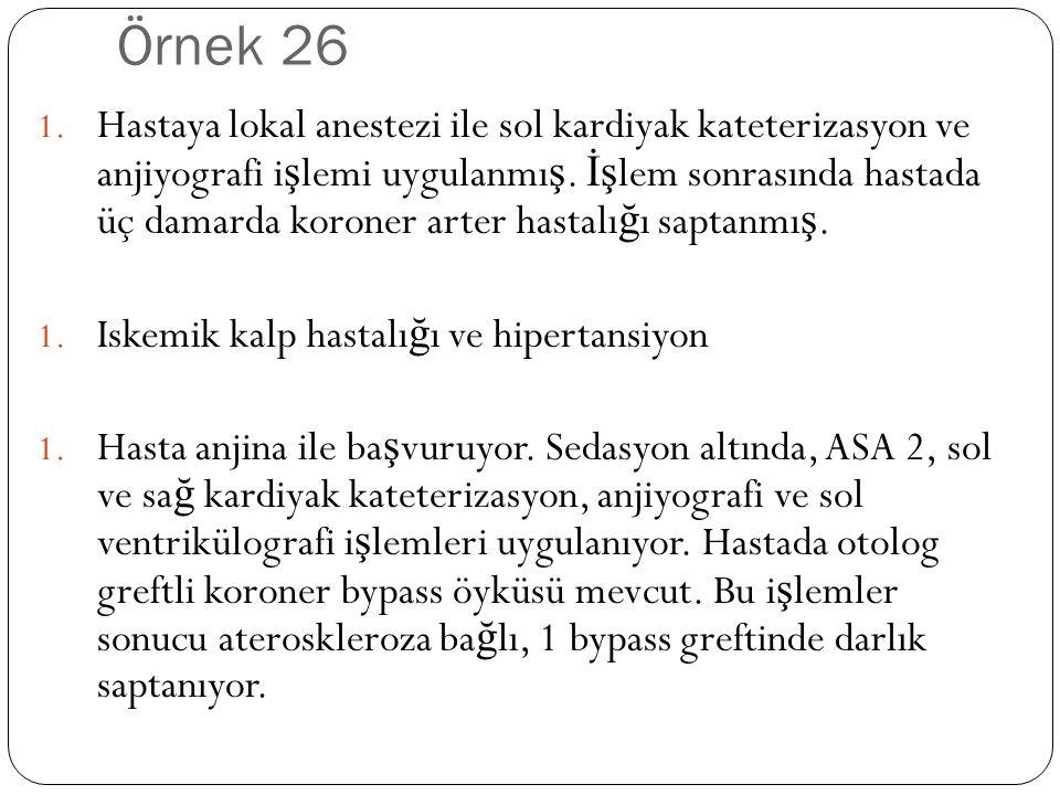 Örnek 26 1.