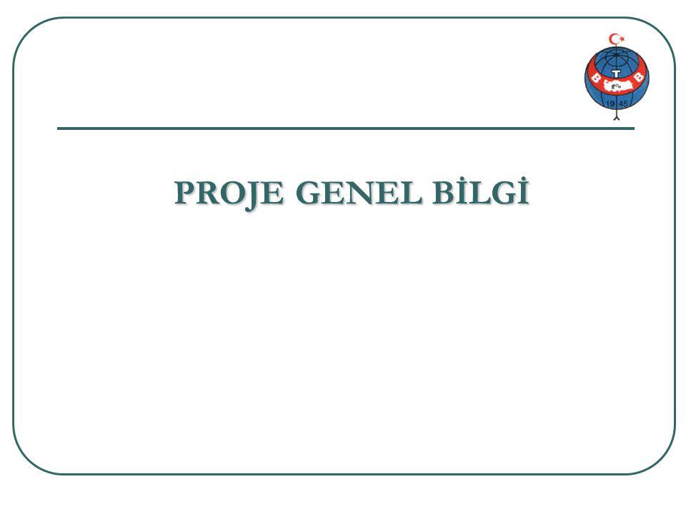 Proje genel bilgi 1/34 PROJE GENEL BİLGİ