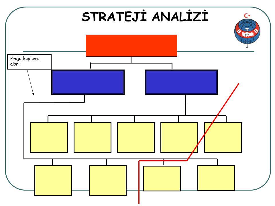 Proje genel bilgi 30/34 STRATEJİ ANALİZİ Proje kaplama alanı