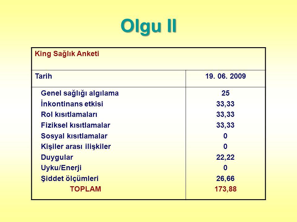 King Sağlık Anketi Tarih19.06.