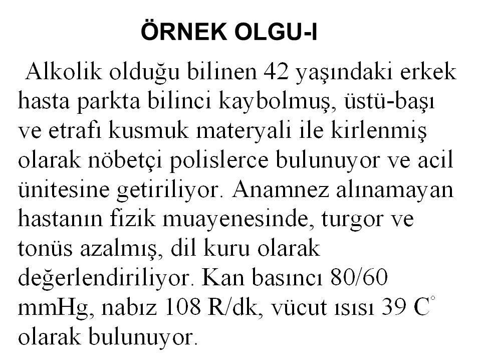 ÖRNEK OLGU-I