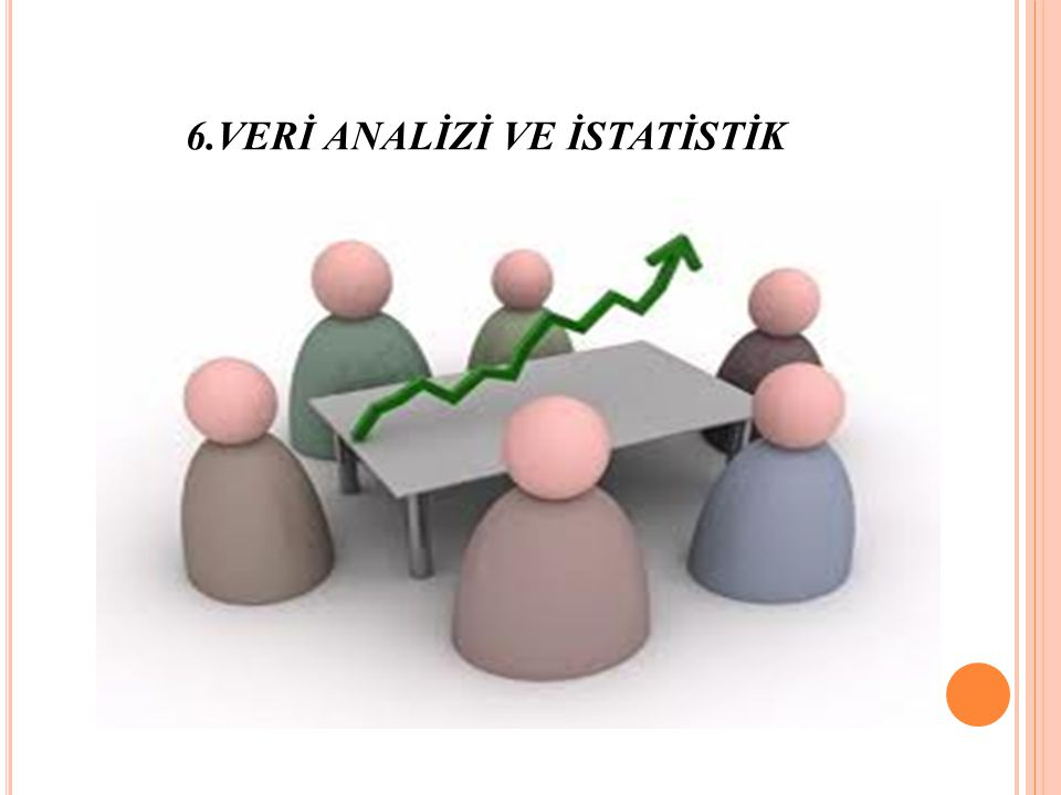 6.VERİ ANALİZİ VE İSTATİSTİK
