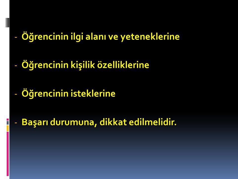 Örneğin; Ahmet adlı öğrencinin Matematik notu 5, Biyoloji 4, Kimya 3, Fizik dersinin notu ise 2'dir.