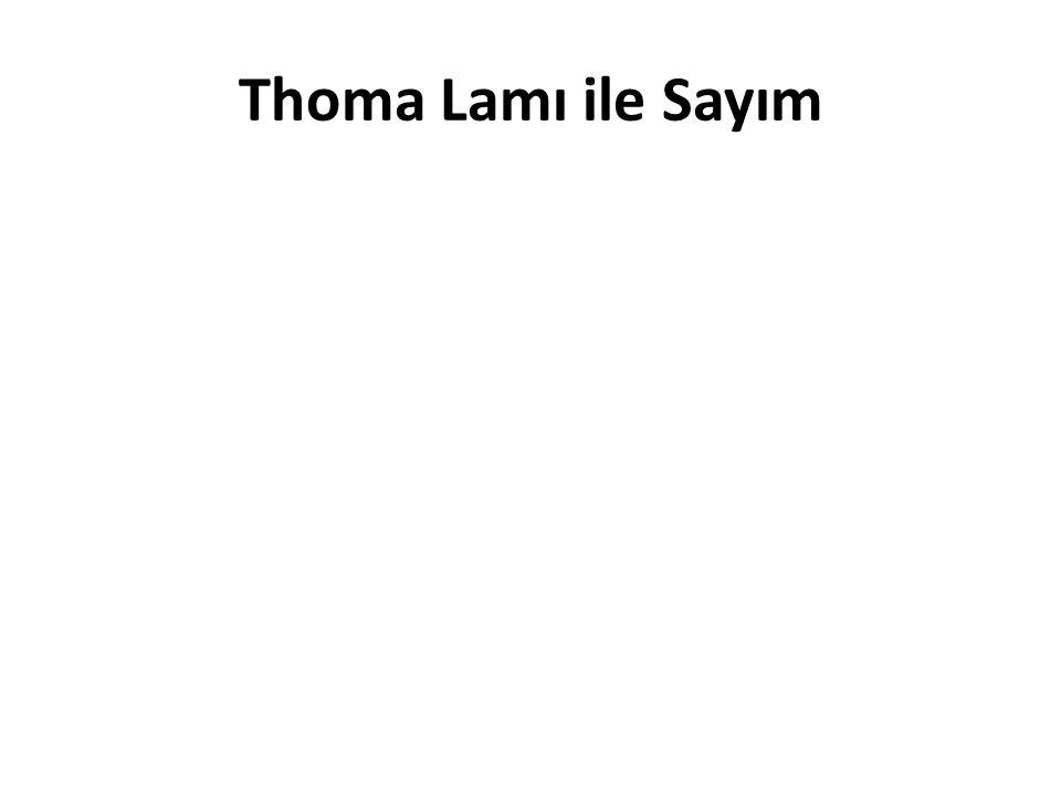 Thoma Lamı ile Sayım