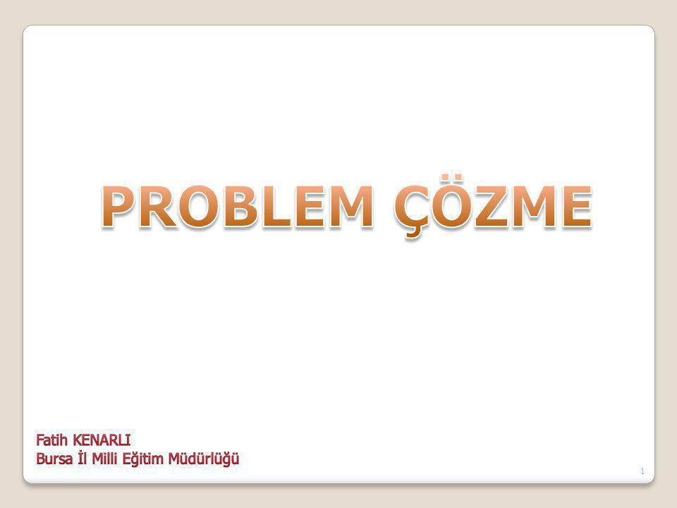 SONUÇ (PROBLEM) YATIRIM ÖĞRETİMEĞİTİM YÖNETİMPERSONELİLETİŞİMDONATIM 22