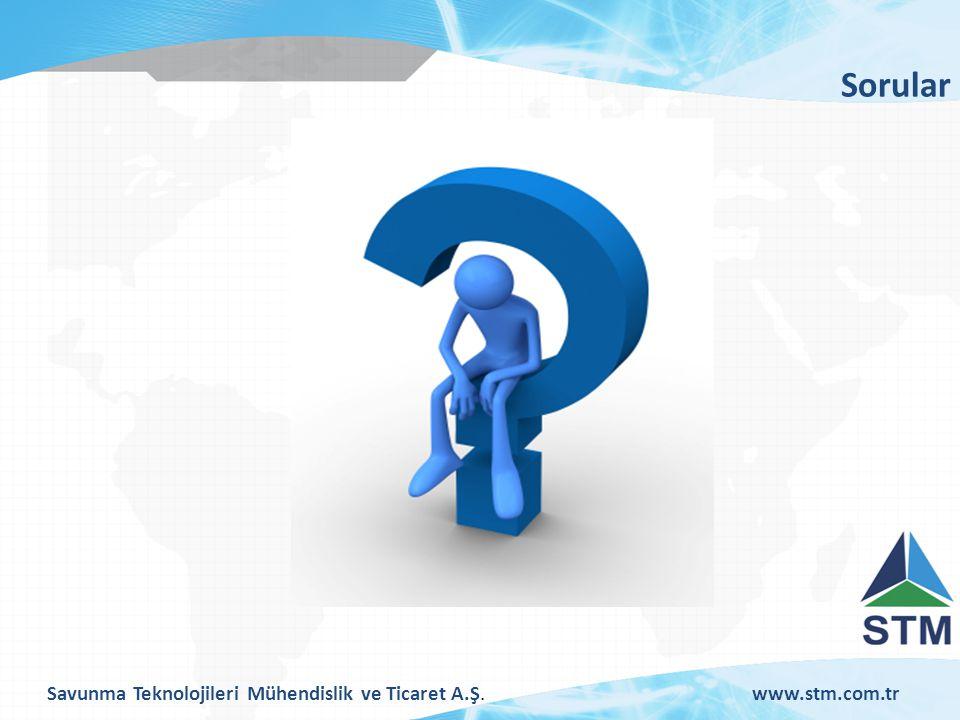 Savunma Teknolojileri Mühendislik ve Ticaret A.Ş.www.stm.com.tr Sorular