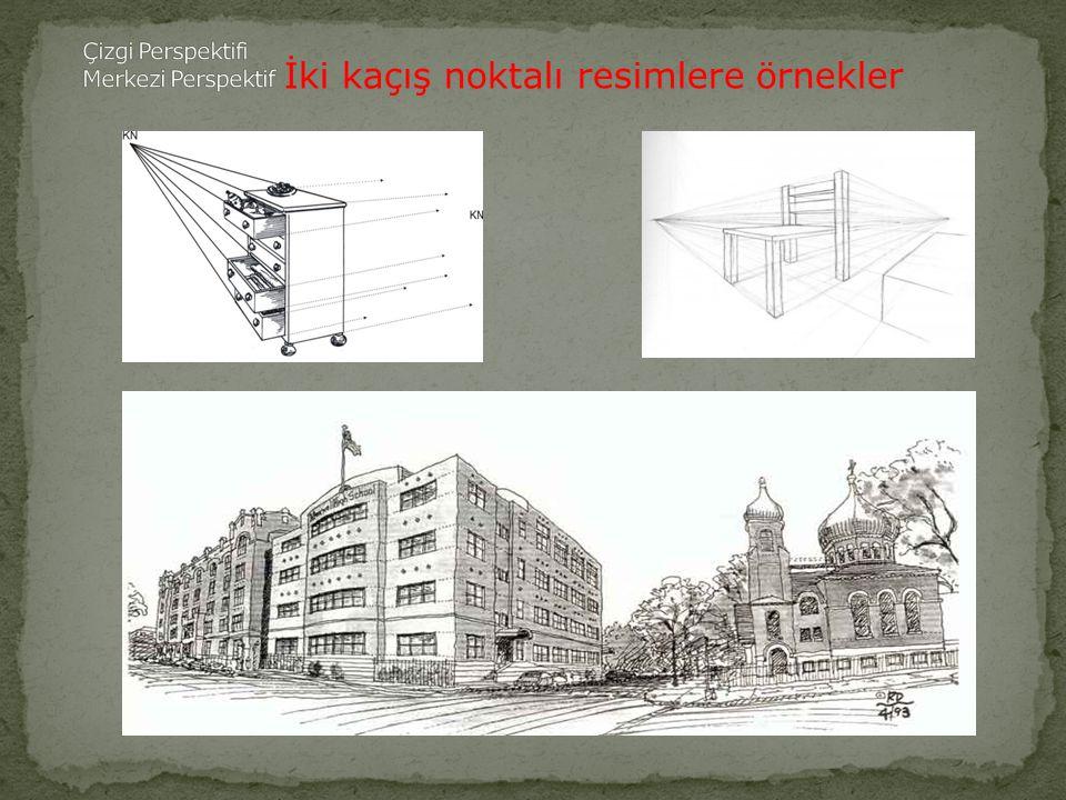 İki kaçış noktalı resimlere örnekler