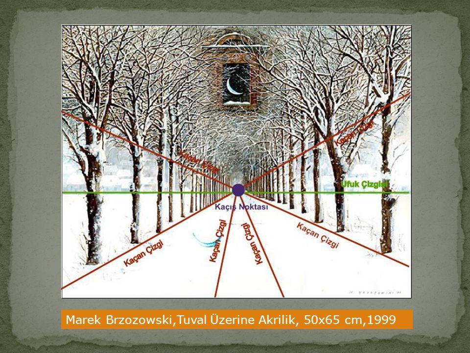 Marek Brzozowski,Tuval Üzerine Akrilik, 50x65 cm,1999