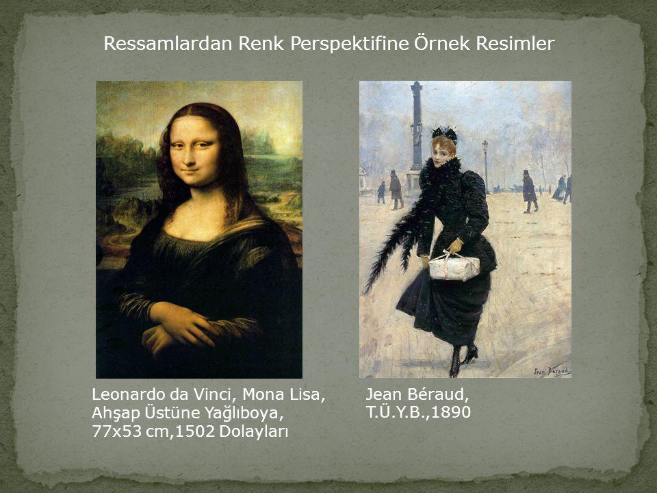 Ivan Ayvazovski, Haliç Körfezi, T.Ü.Y.B., 83x104,1872 Ivan Ayvazovski, Topkapı'dan İstanbul, T.Ü.Y.B., 60,2 x 94,3,1874 Ressamlardan Renk Perspektifin