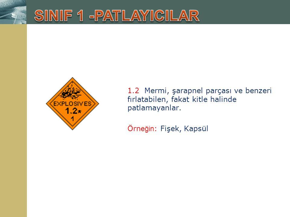 3.2 Yanıcı Sıvılar; Tutuşma noktası 60.5 - 93 o C arasında olan maddeler.