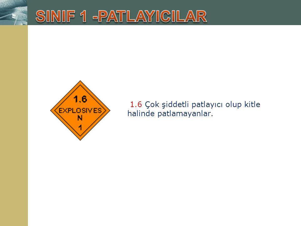 5.1 Oksitleyici (Yakıcı) maddeler; bu maddeler kendileri yanıcı olmadıkları halde bünyelerinde yanma için gerekli olan oksijeni bulundurduklarından yanabilen maddelerle temas edince reaksiyon başlatırlar.