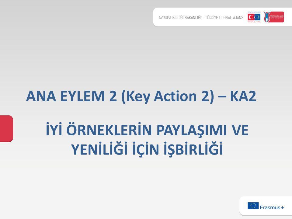 İYİ ÖRNEKLERİN PAYLAŞIMI VE YENİLİĞİ İÇİN İŞBİRLİĞİ ANA EYLEM 2 (Key Action 2) – KA2