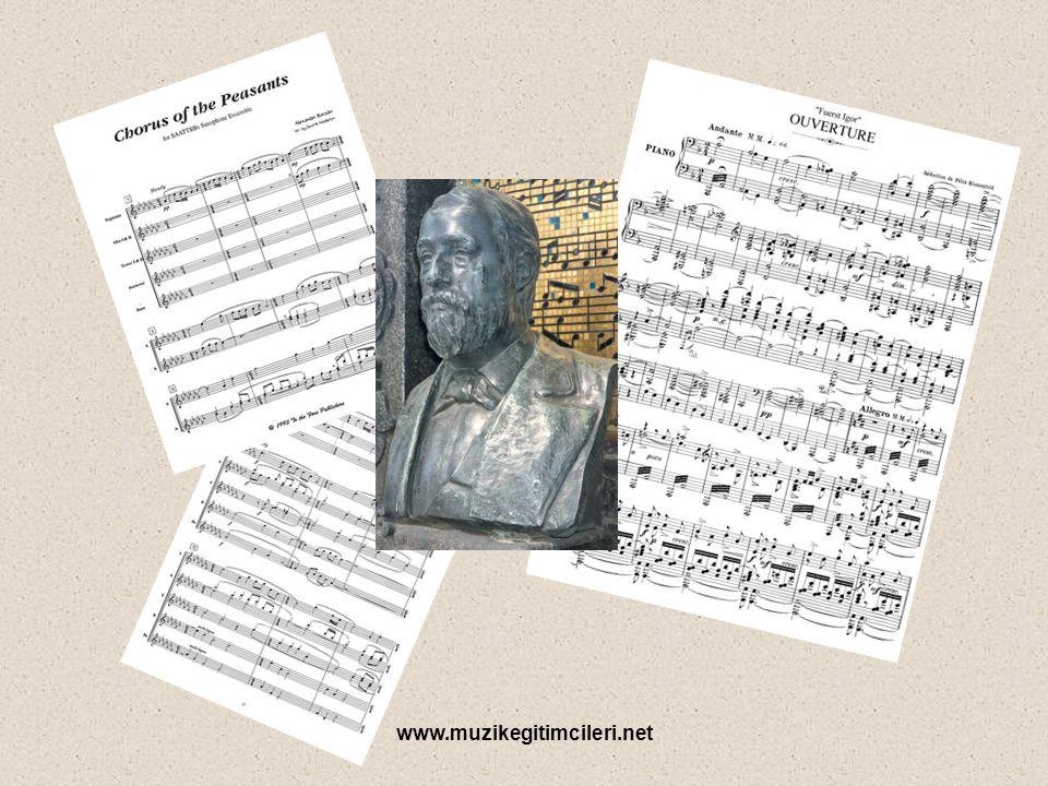www.muzikegitimcileri.net Gizemi aralayamasak da, müzikal yolculuğuna bakmaya çalışalım. 1864'de Mili Balakirev ile tanışması hayatını değiştirir. Bor