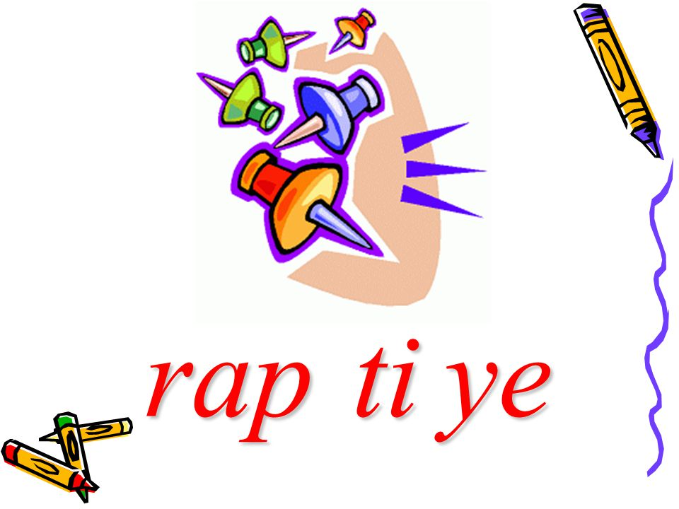rap rap ti ti ye ye