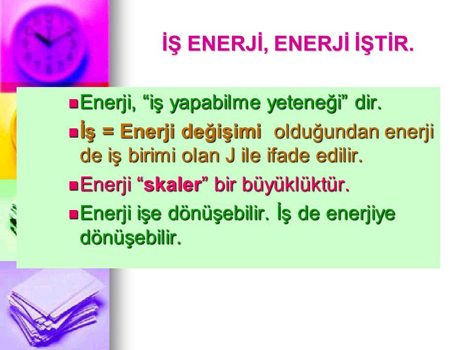 VERİM Verim = Elde edilen (alınan) enerji Verim = Elde edilen (alınan) enerji Harcanan enerji Harcanan enerji