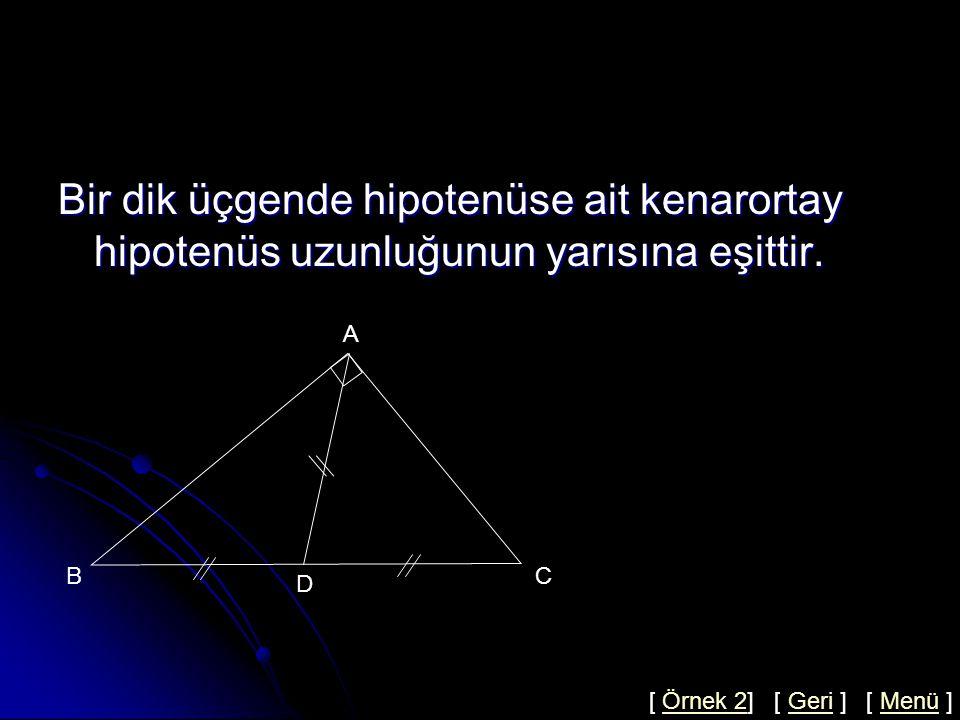 Ağırlık Merkezi Olma Şartları 2x x x 2y y 2x x x A A A A B C BB B C C C K K K K E D D FG H D Dört şekilde de K noktası ağırlık merkezidir.