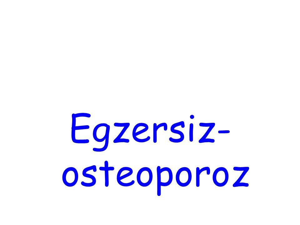 Egzersiz- osteoporoz