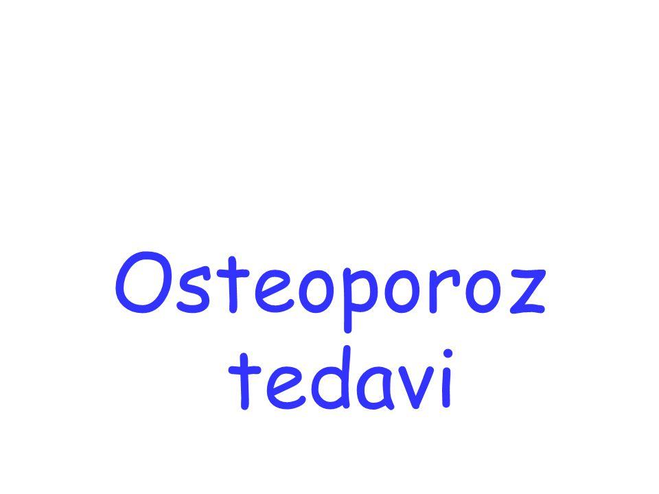 Osteoporoz tedavi