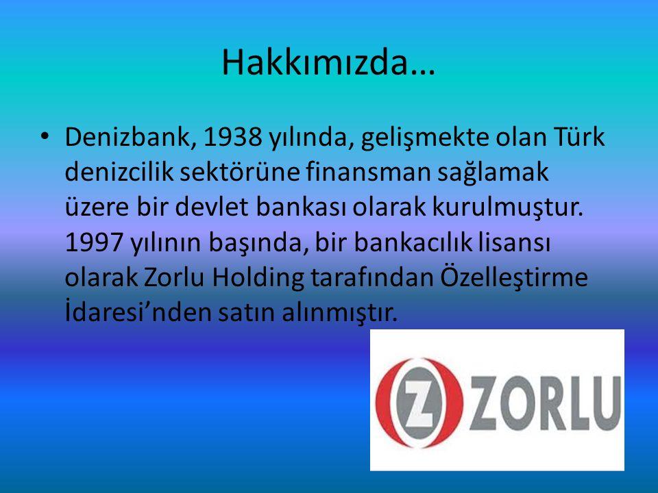 Ekim 2006'da, Avrupa'nın önde gelen finans gruplarından biri olan dexia tarafından Zorlu Grubu'ndan satın alınan DenizBank'ın 2012 yılında Sberbank'a satışı gerçekleşmiştir…