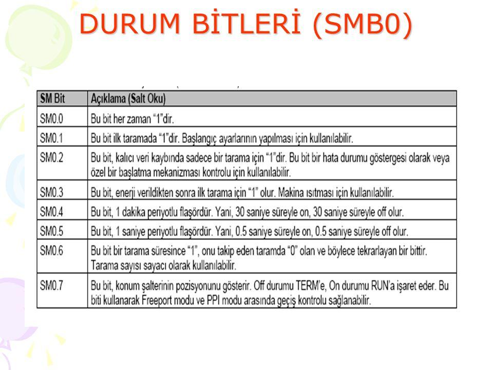 SMB0 'ın BİTLERİ 43.Slayt