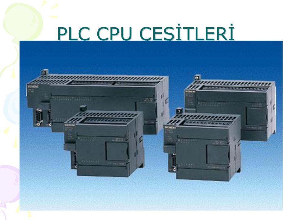 CPU224 AC/DC/Röle CPU 224 GİRİŞLER ÇIKIŞLAR