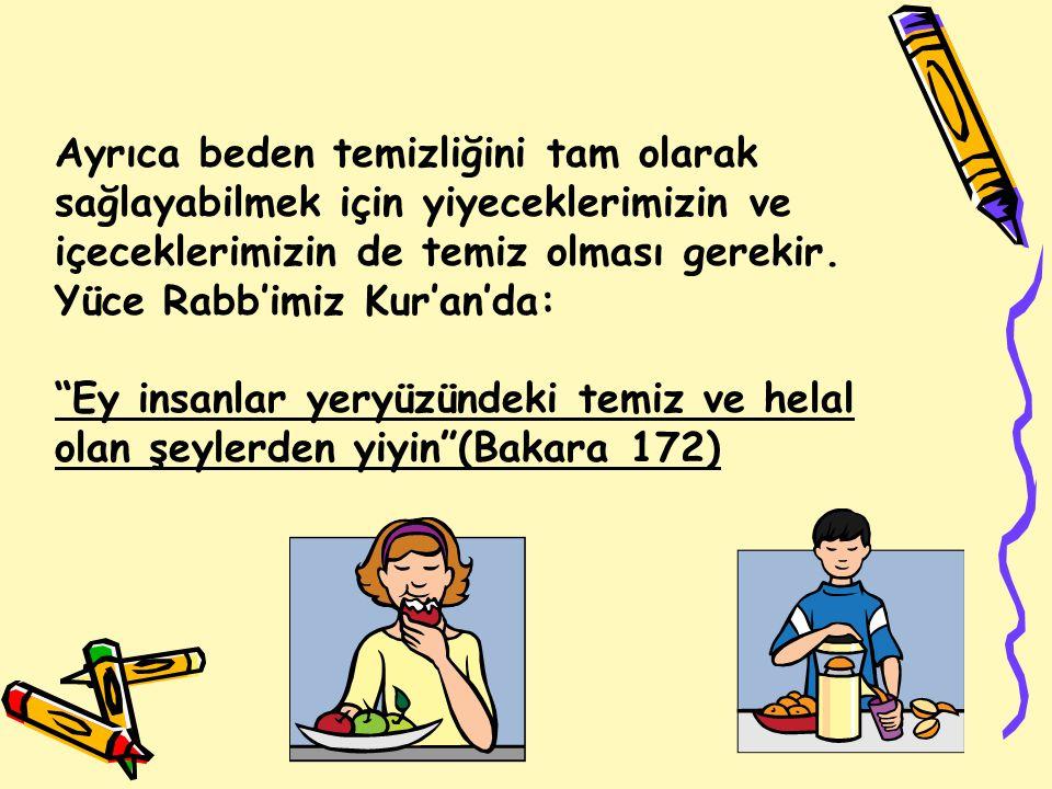 Boy abdesti şöyle alınır: Niyet edilir: Niyet ettim Allah rızası için boy abdesti almaya denir.