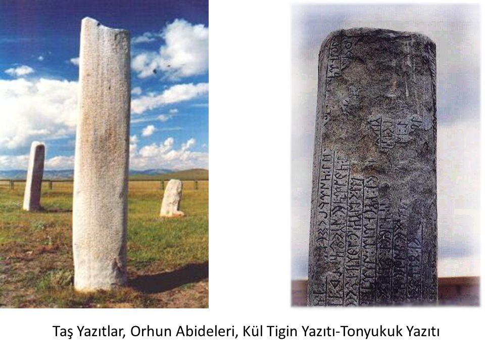 Taş Yazıtlar, Orhun Abideleri, Kül Tigin Yazıtı-Tonyukuk Yazıtı
