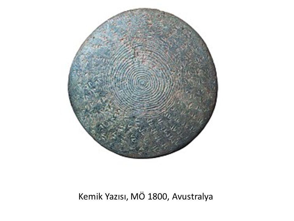 Kemik Yazısı, MÖ 1800, Avustralya