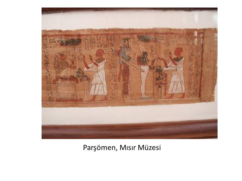 Parşömen, Mısır Müzesi