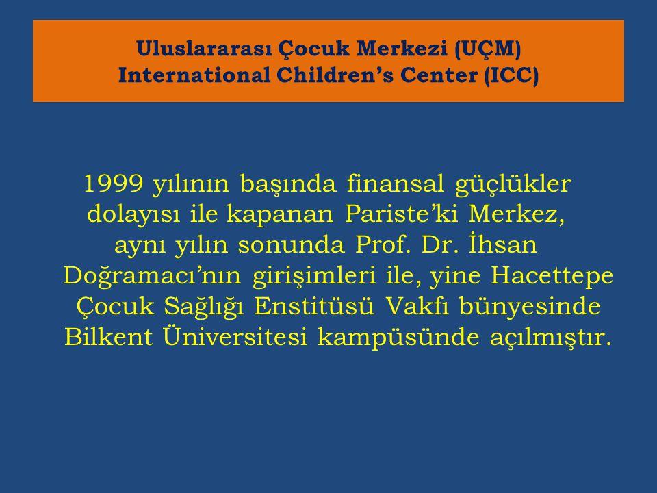 1999 yılının başında finansal güçlükler dolayısı ile kapanan Pariste'ki Merkez, aynı yılın sonunda Prof.