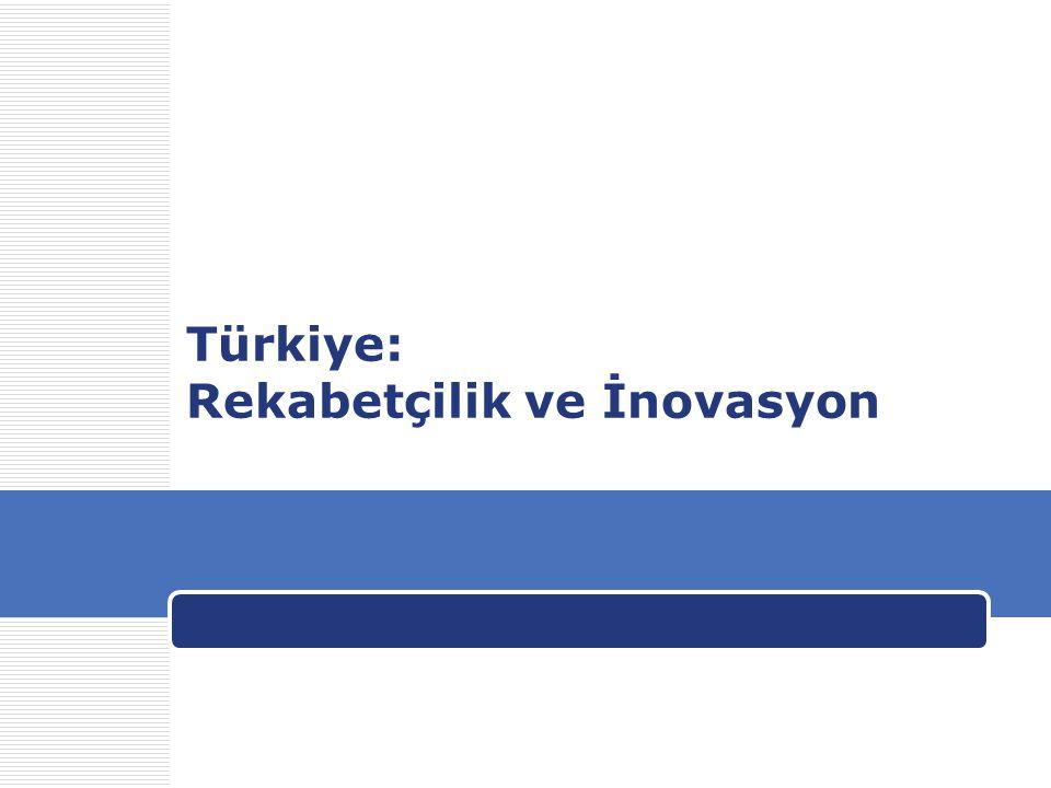 Türkiye: Rekabetçilik ve İnovasyon