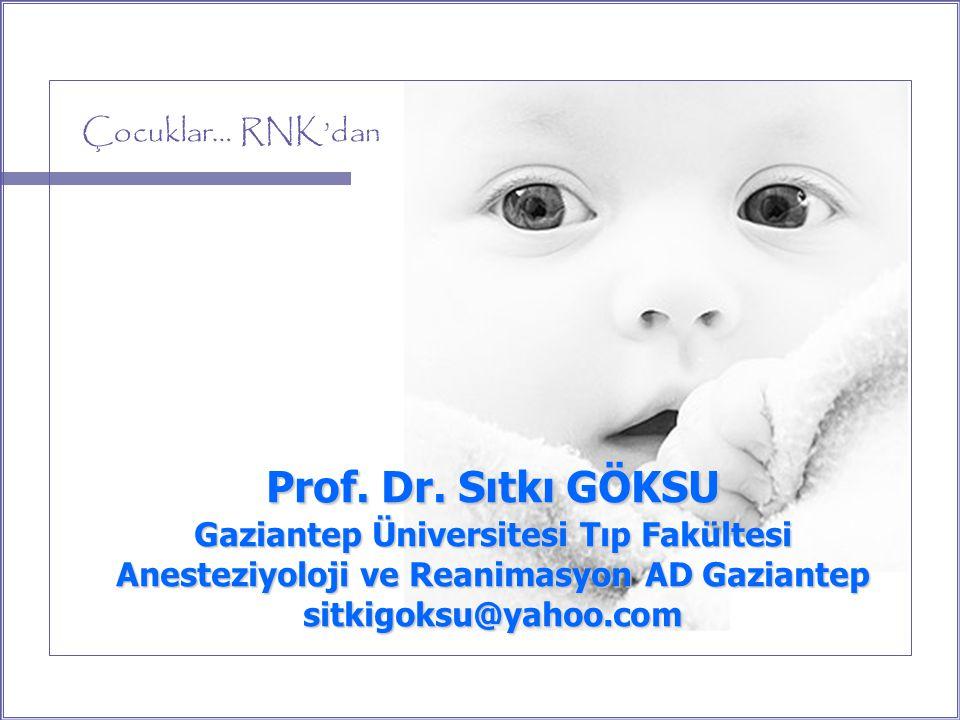 Çocuklar… RNK'dan Prof.Dr.