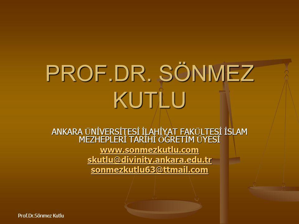 Prof.Dr.Sönmez Kutlu Meslek Programlarına Yapılandırmacı Yaklaşım Nasıl Yansıtıldı.