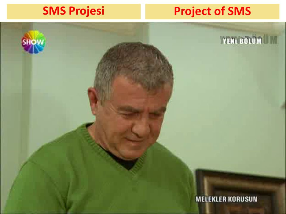 SMS Projesi Project of SMS
