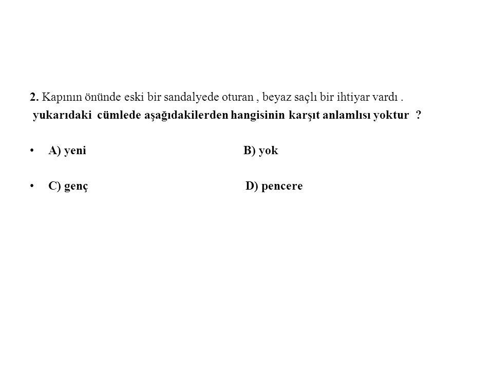 Cevap :d