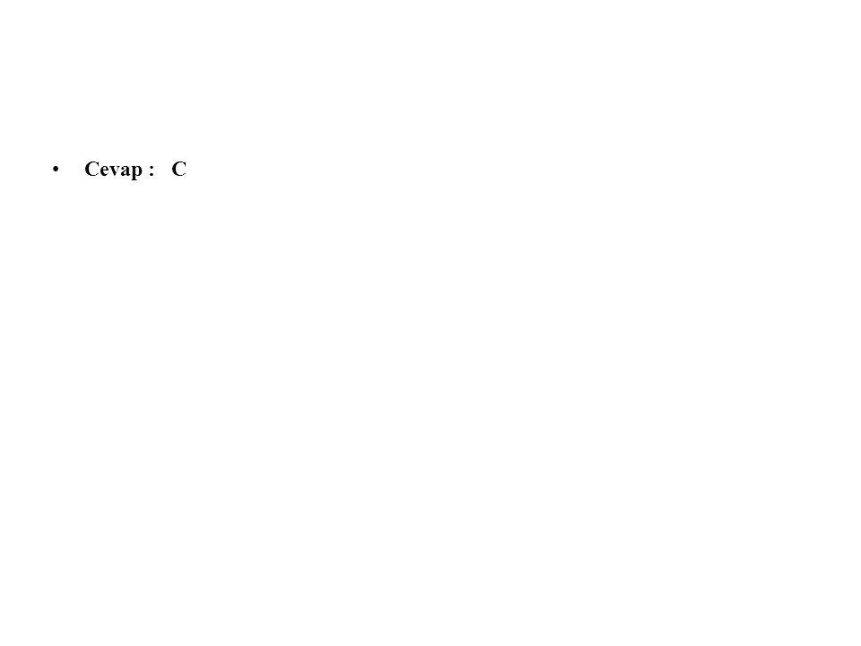 20.Aşağıdaki cümlelerin hangisinde sesteş kelimeler bir arada kullanılmıştır.