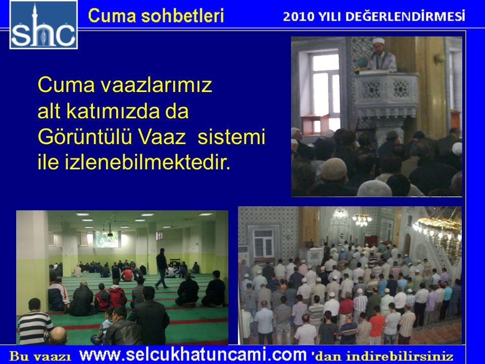 Camimiz Dünyaya açıldı www.selcukhatuncami.com.