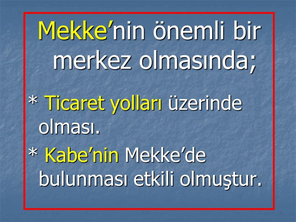 Hz.Osman Hz.Osman Kendi soyundan olanları himaye etmiştir.