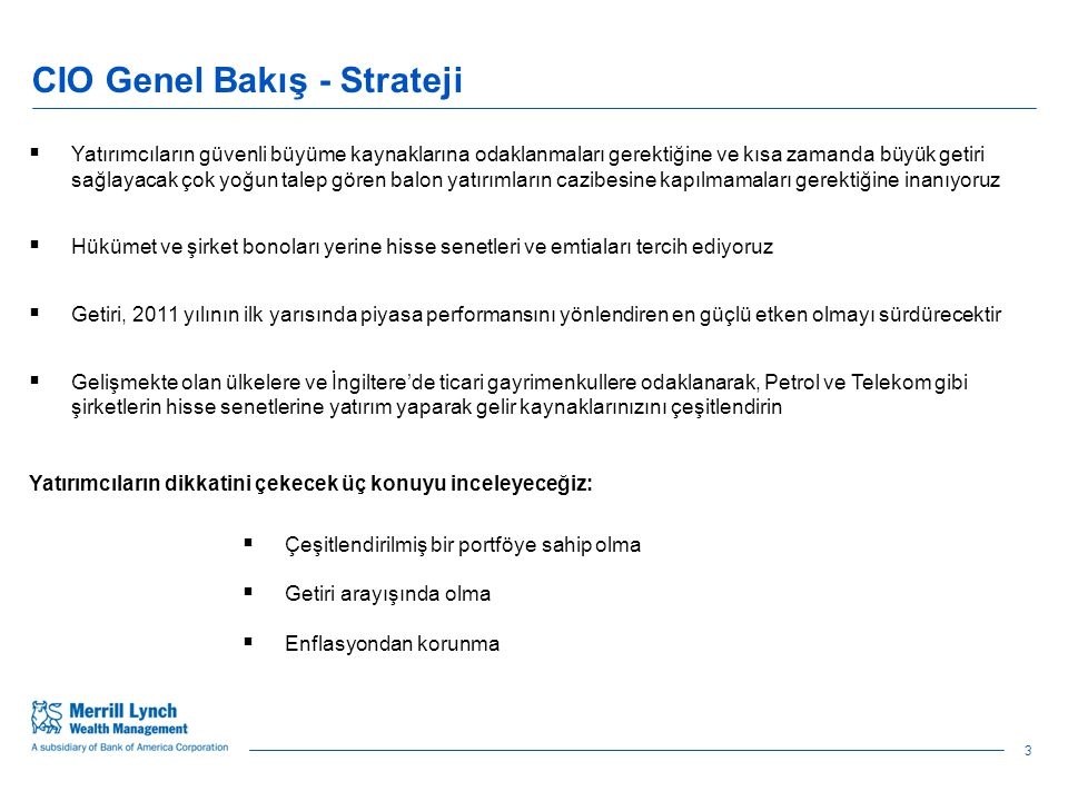 54 January 2011 Cyclical recovery is strong Turkey is the leading growth story in the region Source: BofA Merrill Lynch Global Research, Consensus Economics.